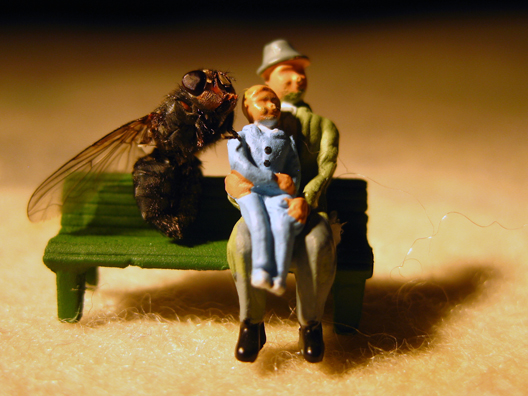 Social Practice Miniature Installation Sculpture Woodland Scenics