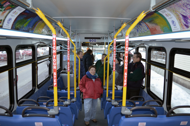 Upper Valley Buses Become Free Art Galleries 2013