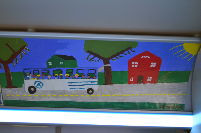 Social Practice AVA Advance Transit Buses Become Free Public Galleries