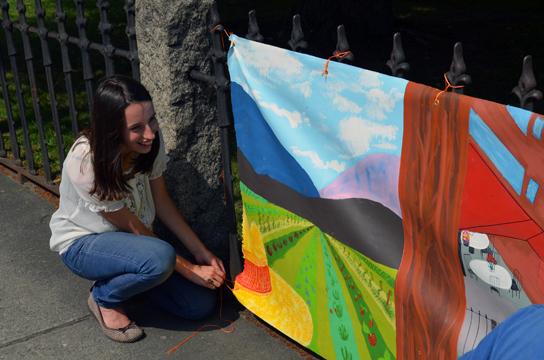 Social Practice Teen Mural Project
