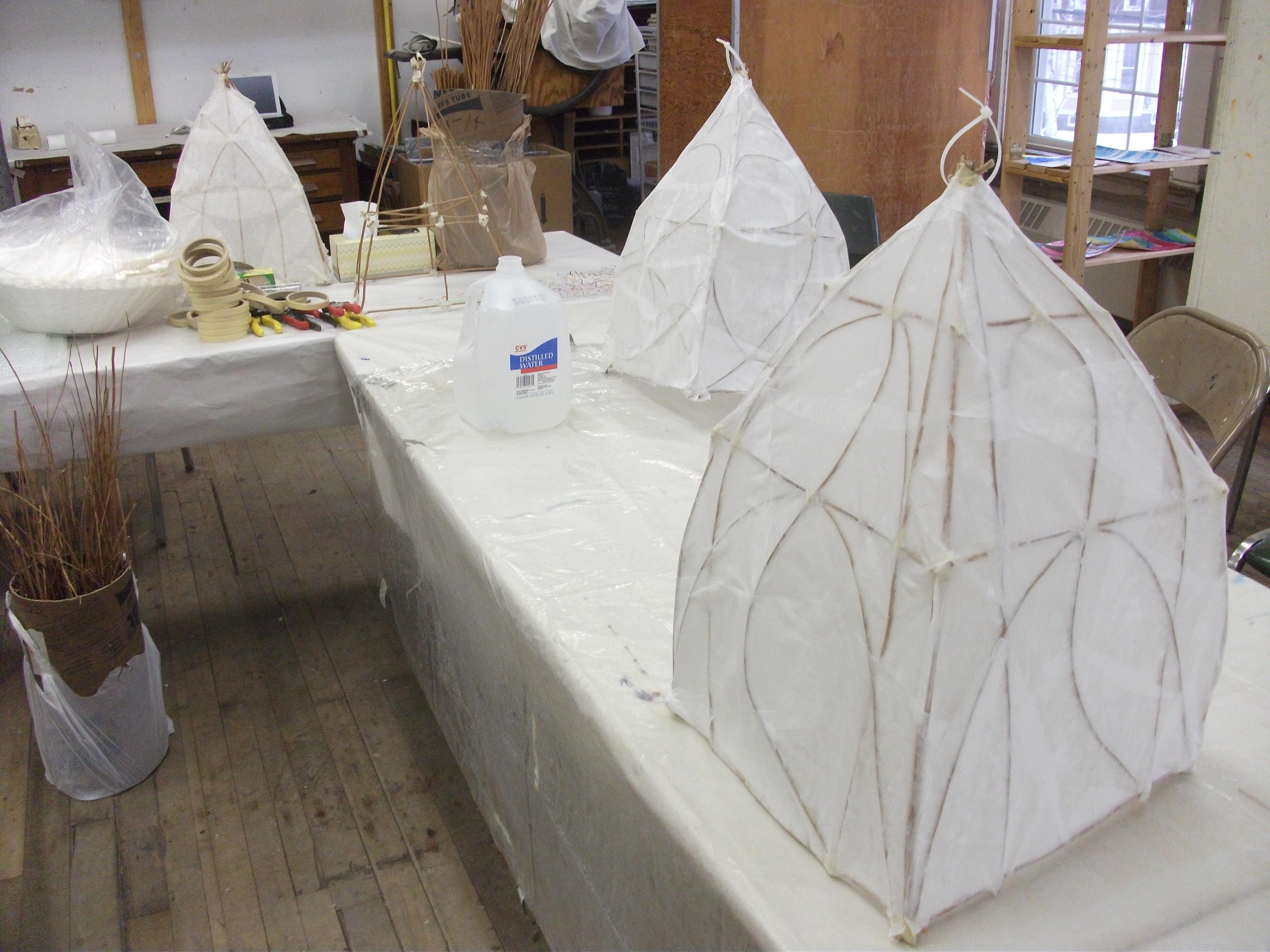 Paper Lanterns AVA Social Practice