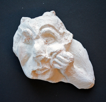 Social Practice Halloween Clay Plaster Sculpture
