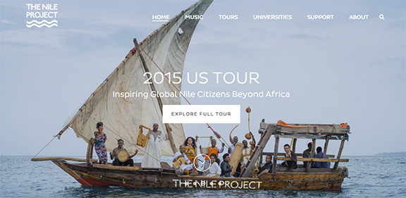 Nile Project Screen Shot