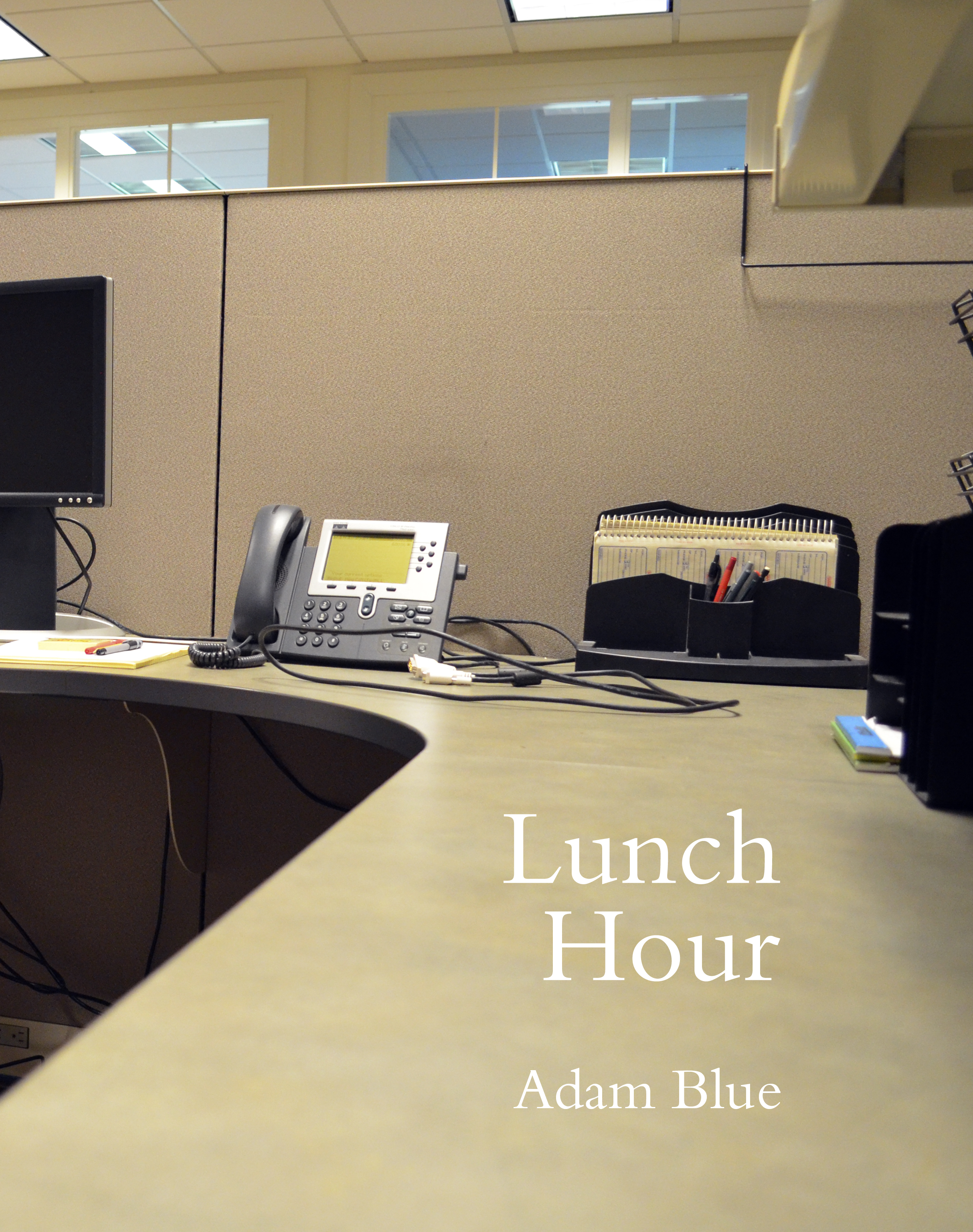 Adam Blue Lunch Hour Book