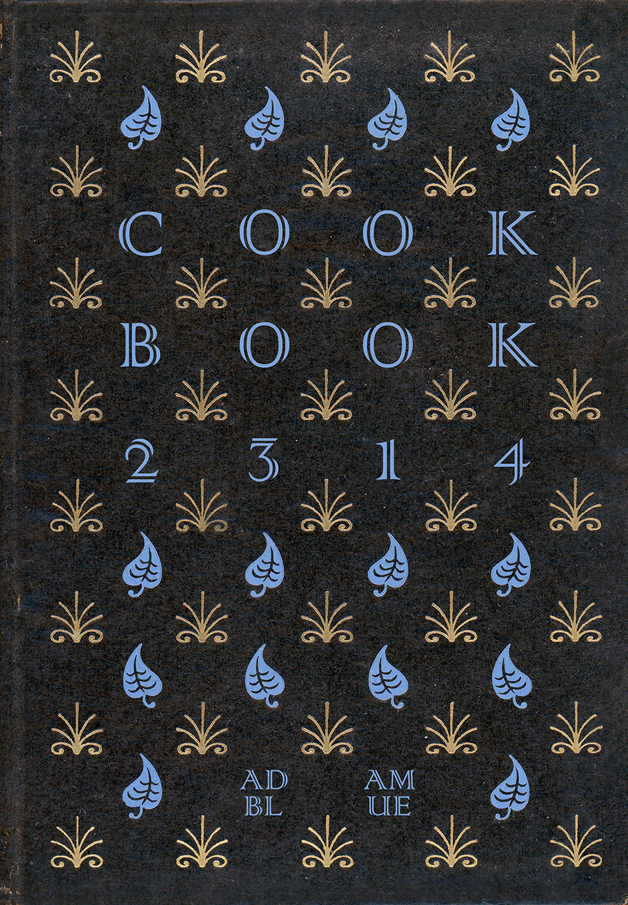 Adam Blue Cookbook 2314 Cover Illustration Dystopia Future Recipes