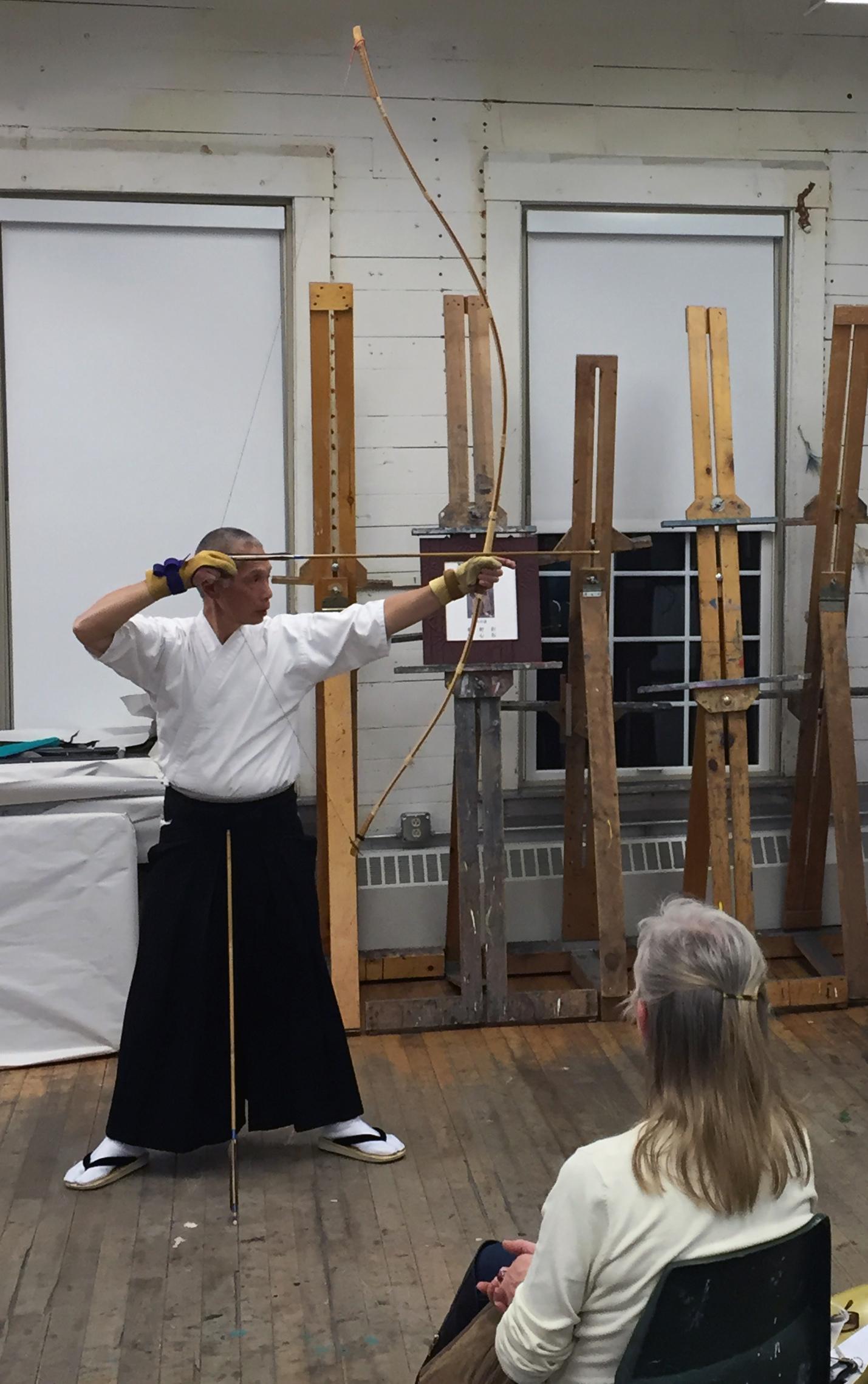 Social Practice Kyudo Zen Archery AVA